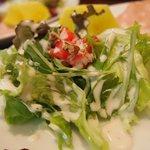 タベルナ石 - 野菜のサラダ