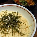 ちいおり - 辛つけ麺(並)【800円】