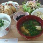 あしたカフェ - 2011/11/8の日替わりランチ