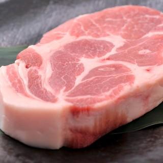 お肉はJA鹿児島産のブランド豚[茶美豚(ちゃーみーとん)]