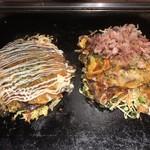 オモニ - オモニ焼き&スジ肉ポッカ焼き