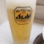 麺屋ガテン - 生ビール(中)2019.2.20