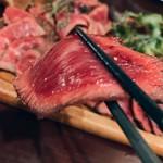 肉バル NORICHANG - 鹿角単角牛       この味を知るとクセになります