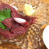 蕎麦酒房 芳雫 - 料理写真:馬刺し ヒレ