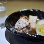 活イカ料理 いっか - 美田&この日限定のおでん イカのすり身