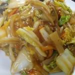 中国料理 龍門 - フライ麺