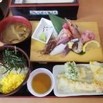 102571675 - 海鮮・天ぷらランチ  1,200円