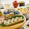 なすび総本店 - 料理写真:旬素材の春皿鉢と肉盛り宴席