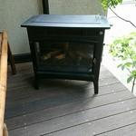白金茶房 - 暖炉