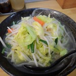 102575561 - タンメン野菜増し700円(税込)(野菜増しは無料、初めに伝える)