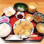 和食にしざき - 天ぷら定食  1,200円