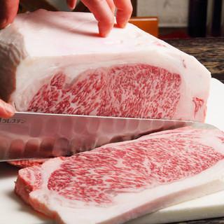 【毎日厳選された和牛をご用意】お肉は全てオーダーカット!