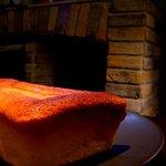 ラムカーナ - スフレチーズケーキ@暖炉