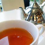 ポムドール   - セットの紅茶