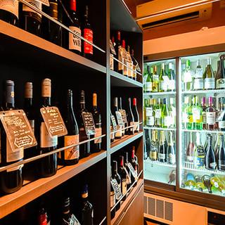 ワインを中心にワインカクテル、サワーなど多数