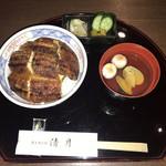 Seigetsu - 上鰻丼(3,450円)