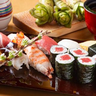 お一人様もお気軽に!お手軽な上寿司セットが3,500円~