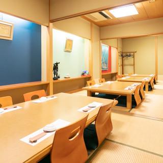 駅近で使い勝手の良い老舗寿司店。お一人様からご宴会まで大歓迎