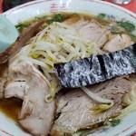 翁介 - 焼豚ワンタン麺