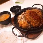 キッチンカロリー - カツジャンボ鉄板焼