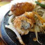 肉のはせ川 - ハンバーグ&カキフライ