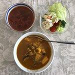 アマノフリーズドライステーション - 畑のカレーと3種の唐辛子スープ