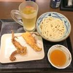 丸亀製麺 - 30分飲み放題Aセット1,000円