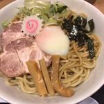 102606547 - 豚玉油そば(690円)+大盛(100円)
