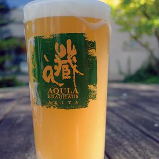 自家製ビールをどうぞ!珠玉の秋田あくらビール5種類をどうぞ!