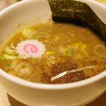 東京アンダーグラウンドラーメン 頑者 - つけ麺(濃厚)