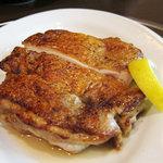 10261052 - 鶏もも肉(鉄板焼)¥630