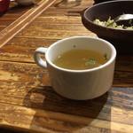 二代目アミーゴ森崎 - スープ
