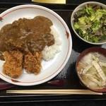 佐賀昇 - カツカレー定食