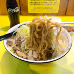 麺屋 ゴンザレス - 油ソバ 太麺