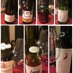 青龍 - ワインは7種類 日本酒を含め