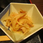 多摩うどん ぽんぽこ - 2011/10 切干大根の小鉢♪
