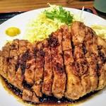 豚々亭 - 大トンテキ定食