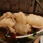 肉の佐藤 - ぷりぷりの牛もつ