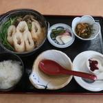 みちのく食事処 - きりたんぽ鍋定食