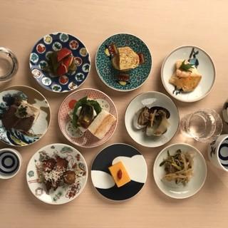 自由に楽しく美味しいものを。現地の経験が活きた世界各国の料理
