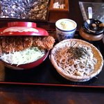 信州家 - そうすかつ(小さい蕎麦セット)1890円