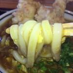 根っこ - 噛まずに飲める滑らかな細めの麺 トロトロ玉子と相性もバツグン