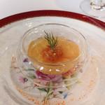 佛蘭西料理 名古屋 - 石井さんのおいしい農園ミニトマトムースにゼリー