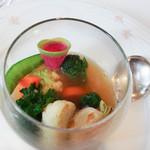 102639641 - 藤沢の野菜のポトフ、コンソメソース