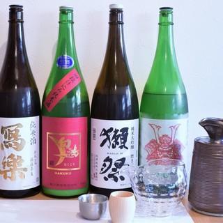 日本酒多数揃えております