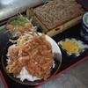 桑野屋 - 料理写真:秘伝!丼たれ かき揚げ天丼セット