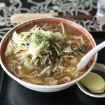 ラーメン 天狗山 - にんにく醤油ラーメン ¥800