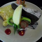 春秋風亭 - ケーキ