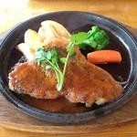 Hamu - 茶色豚のロース肉ソテー