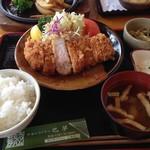 Hamu - 茶色豚とんかつ定食